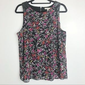 Banana Republic Floral Top Size Large